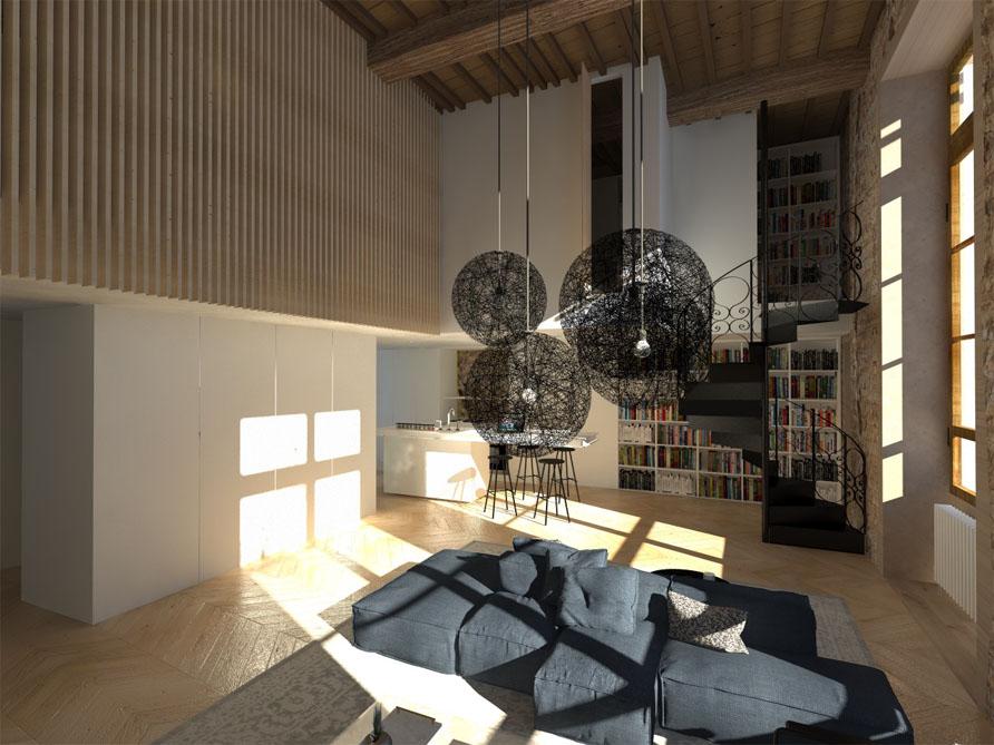 appartement_architecture_intérieur_3D-rendu2 lyon