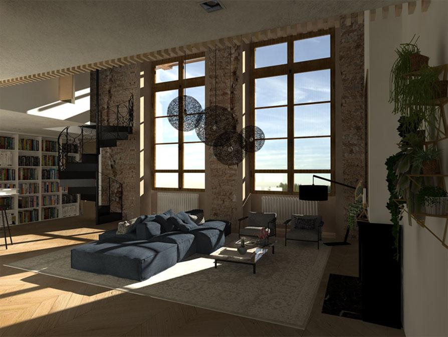 appartement_architecture_intérieur_3D-rendu3 lyon