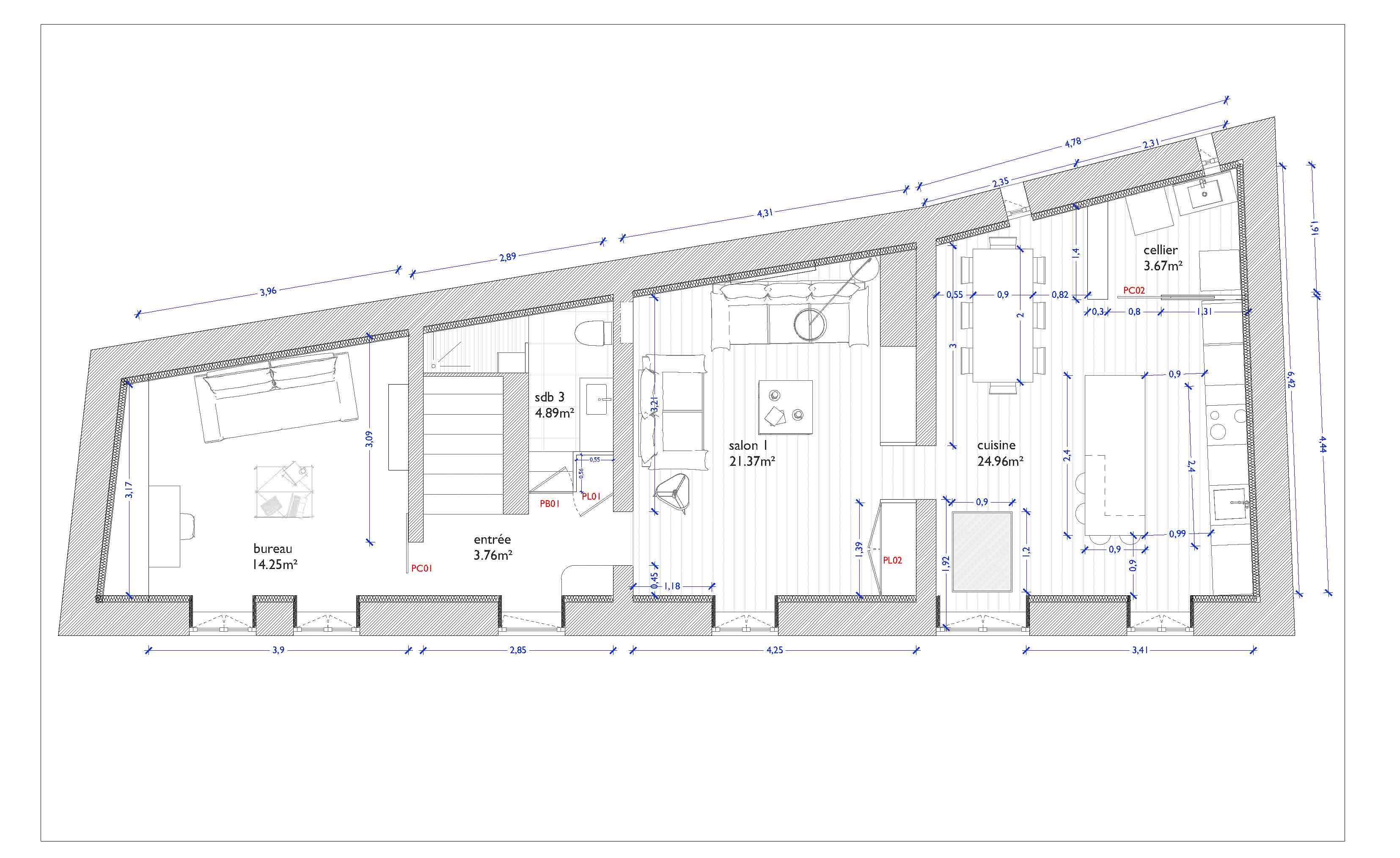 plan-rénovation_maison_azergues_restauration_rehabilitation_construction_maison_ancienne_presbytère
