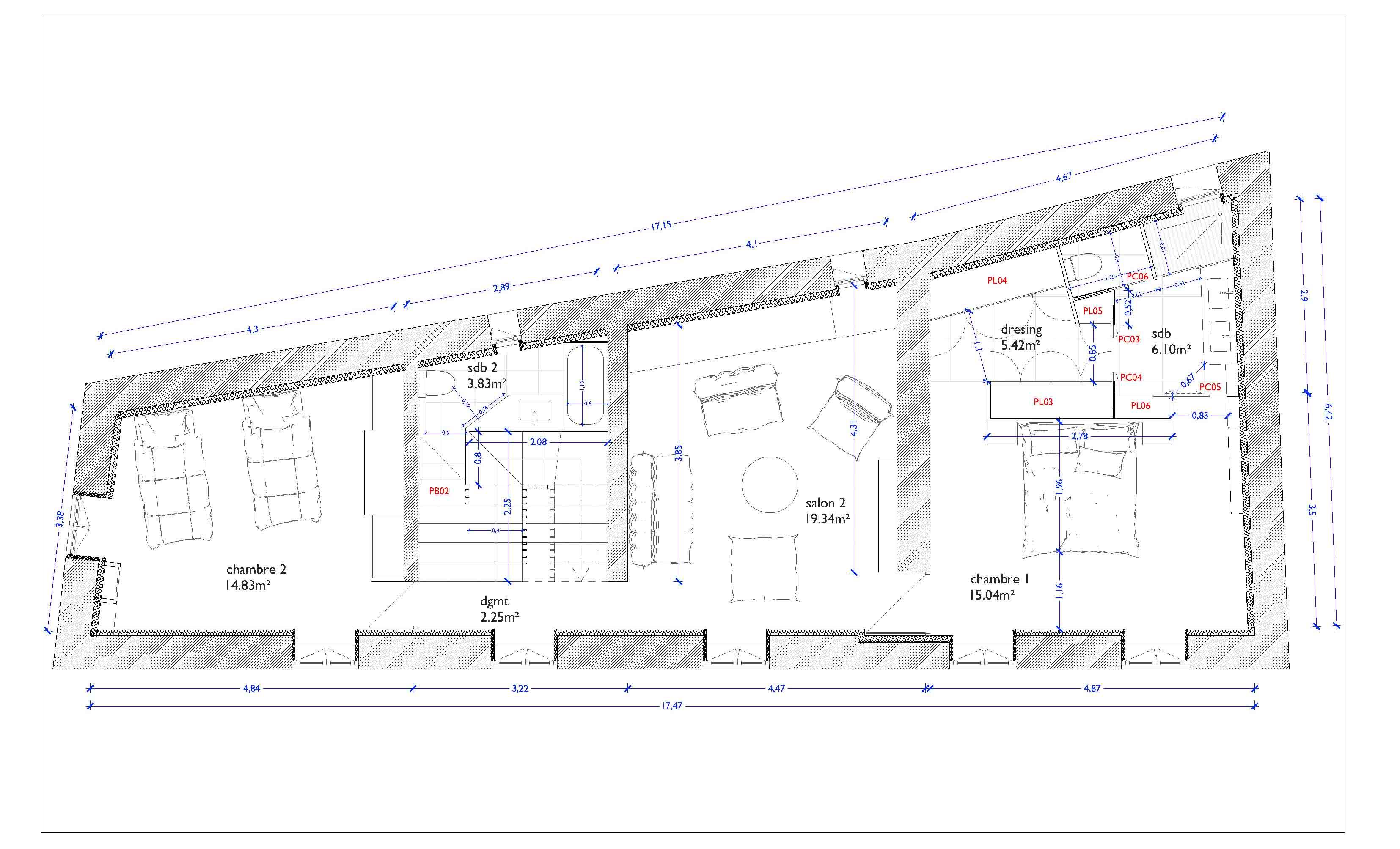plan-rénovation_maison_azergues_restauration_rehabilitation_construction_maison_ancienne_presbytère-2